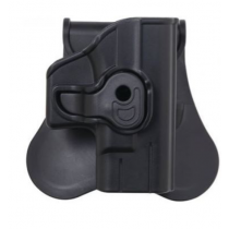 Bulldog Polymer Paddle Holster for Taurus 24/7, Black, Right Hand