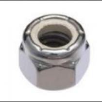 Handi Man Marine #10-24 Lock Nut 100 Pack