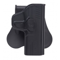 Bulldog Rapid Release Taurus 24/7, 24/7 OSS Paddle Holster Right Hand Polymer
