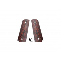 Remington 1911 Swooping S Rosewood Grips