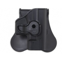 Bulldog Cases & Vaults Polymer Holster w/Paddle For Walther P99
