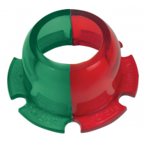 Perko - 112-1/2° Red/Green Lens for Bi-Color Lights