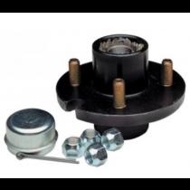 Tie Down Engineering 81060 4 Stud Wheel Hub Kit with 1 in. Bearings