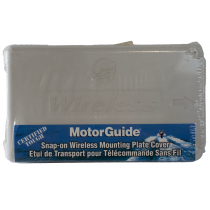 Motor Guide Mounting Plate Cover White