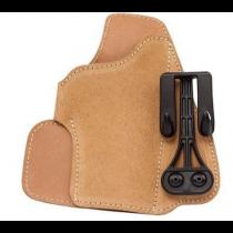 Blackhawk! Leather Tuckable Holster Brown Left Hand