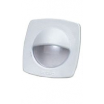 "Perko - 2-1/4"" White Polymer Courtesy Light with Snap on Front Cover"