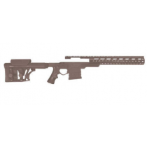 AB Arms GEN III MOD-X Modular Rifle System KeyMod Chassis Remington 700 308, FDE TAN