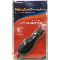 ThermaCELL Heated Insoles Car Charger 12/24 VDC
