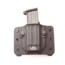 L.A.G. Tactical Single Pistol Mag Pouch, 10mm/45 ACP