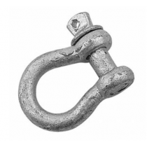 Sea-Dog 147810-1 Galvanized Steel 3/8″ Screw-Pin Anchor Bow Shackle