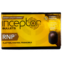 Polycase Inceptor Sport Bullet 38 cal/.35 84GR RNP 250 Round Box