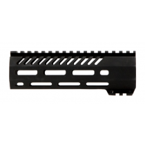 "Mission First Tactical Tekko AR-15 Free Float 7"" Carbine Length M-LOK Hand Guard Aluminum Hard Coat Anodized Matte Black Finish"