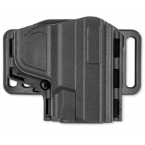 Uncle Mike's Reflex Pancake Holster S&W Shield Right Hand Kydex Black 74101