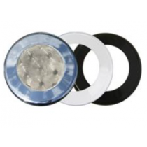 "T-H Marine - 3"" White 55 lm Recessed Dome LED Light"