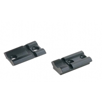Weaver Savage B.MAG/B-Series Top Mount Base Pairs 2-Piece Aluminum Black