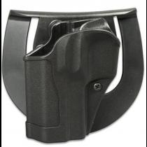 Blackhawk! Sportster CQC S&W M&P Shield Belt/Paddle Holster Left Hand Polymer Matte Black