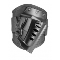 Fobus Ankle Holster Charter Arms/Ruger LCR/LCRx Right Hand Draw Polymer Shell/Cordura Pad with Velcro Strap Matte Black Finish