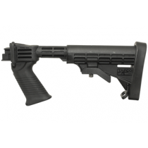 Saiga T6 Stock Set - Black w/ Integrated Pistol Grip