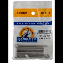 Handi Man Marine Shear Pin 5/16x 1 7/8 Pack of 5