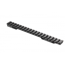 Weaver Extended Multi-Slot 1 Piece Base Picatinny/Weaver Compatible Tikka T3X Long Action Platforms 6061-T6 Aluminum Hard Coat Anodized Finish Matte Black