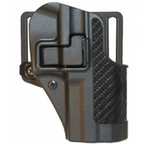 BLACKHAWK! CQC SERPA Belt/Paddle Holster Springfield XD Sub Compact Right Hand Carbon Fiber/Black 410031BK-R