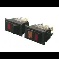 "Sea Dog - 7/8""15A On/Off/On DPDT Illuminating Rocker Switch"