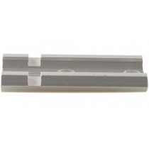 Weaver Standard Top Mount Aluminum Scope Base - Silver - #402S - Anschutz, Browning, Winchester