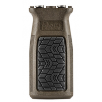 Daniel Defense KeyMod Compatible Vertical Foregrip Soft Touch Rubber Overmolding Injection Molded Glass Infused Polymers Mil-Spec+ Finish