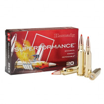 Hornady GMX Superformance Ammunition, 300 Ruger Compact Mag Gilding Metal Expanding, 165 Grain, 20 Round Box
