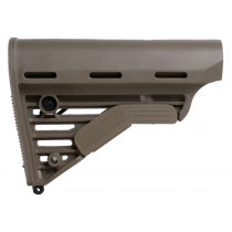 Knoxx Replacement Adjustable Carbine Rifle Buttstock AR/M4 Commercial Size Tube Diameter 1.170 Inch