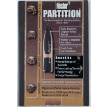Nosler Spitzer Partition Bullets 7MM 150 Grain 50 Count
