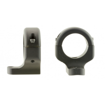 """DNZ 2-Piece Base/Rings For Browning A-Bolt III 1"""" Rings Medium Black Matte Finish"""