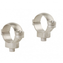 "Leupold 2-Piece Quick Release (QR) Scope Rings - 1"" Medium, Silver"