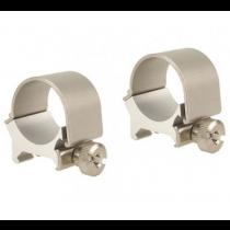 """Weaver Detachable Top Mount Aluminum Scope Rings 1"""" Medium"""