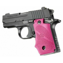Hogue Soft Overmold SIG P238 Grips Rubber Pink