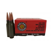 Red Army 5.45X39MM59GR FMJ, STEEL CASE