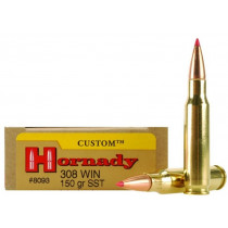 Hornady Custom 308 Win, 150 GR SST, Box of 20