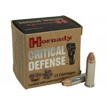Hornady Critical Defense 38 Special +P, 110 GR FTX, Box of 25