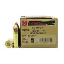 Hornady Lever Revolution 45 Colt 225gr FTX, Box of 20