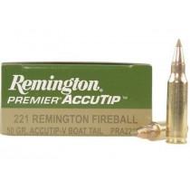 Remington Premier Accutip 221 Fireball 50gr, Box of 20