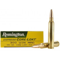 Remington Core-Lokt 300 Win Mag, 180 GR PSP, Box of 20