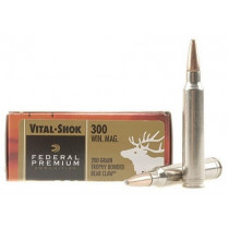 Federal Premium Vital Shok 300 Win Mag 200gr Trophy Bonded Bear Claw, Box of 20