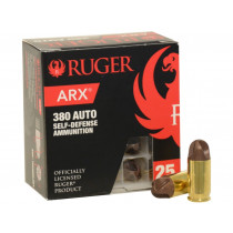 Ruger ARX 380 ACP, 56 GR, Box of 25