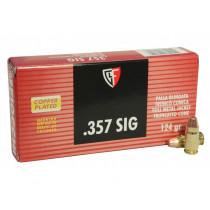 Fiocchi 357 Sig 124gr FMJ, Box of 50