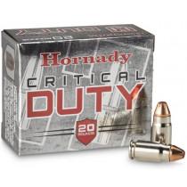 Hornady Critical Duty .357 Sig 135gr Flex Lock, Box of 20