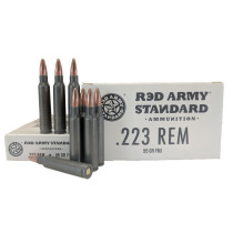 Red Army Standard .223 Rem 55 GR. FMJ, 1000 RD CASE