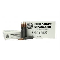 Red Army Standard 7.62x54R 148 GR FMJ, 500 RD CASE