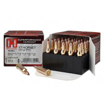 Hornady Superformance, .17 Hornet Ammunition, 25 Rounds, NTX 15.5 Grains