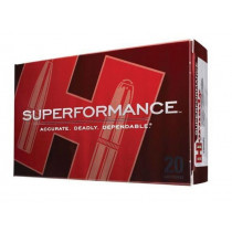 Hornady Superformance, 6mm Remington Ammunition, 20 Rounds, SST 95 Grains