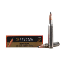 Federal Vital-Shok, 280 Remington, Trophy Copper 140 GR, Box of 20
